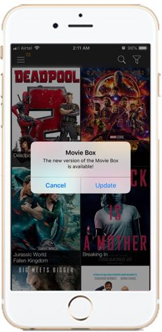 Play Showbox Movies on iOS